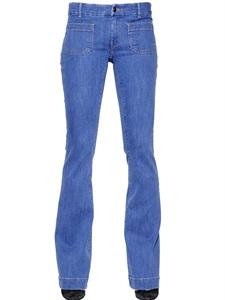 Jeans boot cut in denim stretch