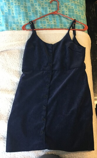 dress small corduroy cooperative by urban outfitters navy button up