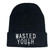 wasted youth beanie hat