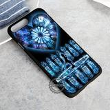 Stained Glass Kingdom Heart - iPhone X 8  7 6s SE Cases & Covers #iPhoneX