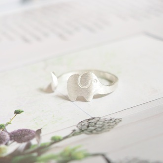 jewels summer summer handcraft elephant knuckle ring elephant ring ring armor ring engagement ring silver ring skeleton gold ring best friend ring gift ideas girlfriend gift best gifts