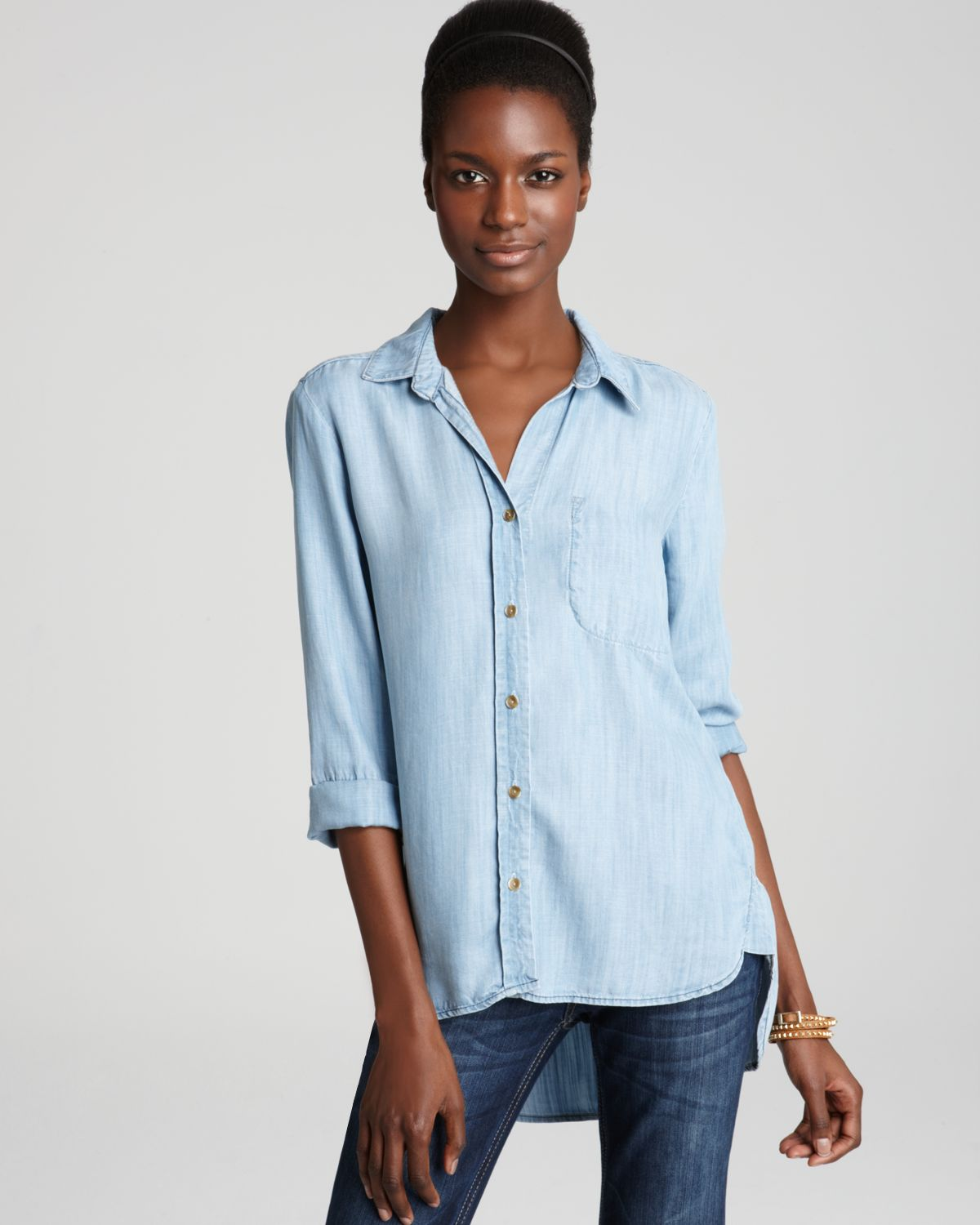 Bella Dahl Shirt - Fitted Button Down | Bloomingdale's