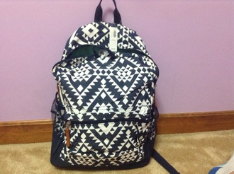 bag blue white school bag old navy 22$