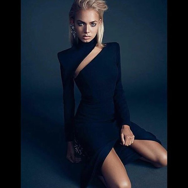 dress black black dress midi dress lovesadores long sleeve dress long sleeves beautiful date outfit date dress