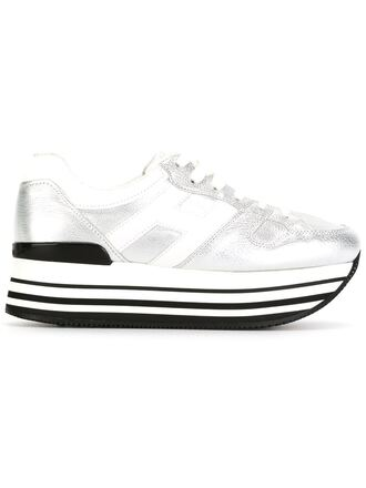 shoes silver sneakers