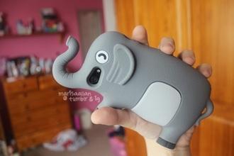 phone cover elephant grey