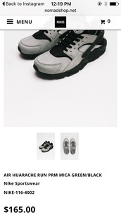 shoes,grey sneakers,huarache,low top sneakers,nike shoes,suede sneakers