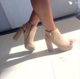 shoes heels pumps nude nude heels