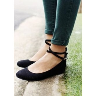 shoes black nude flats straps ankle strap ballet flats cute preppy classy ankle strap heels preppy shoes