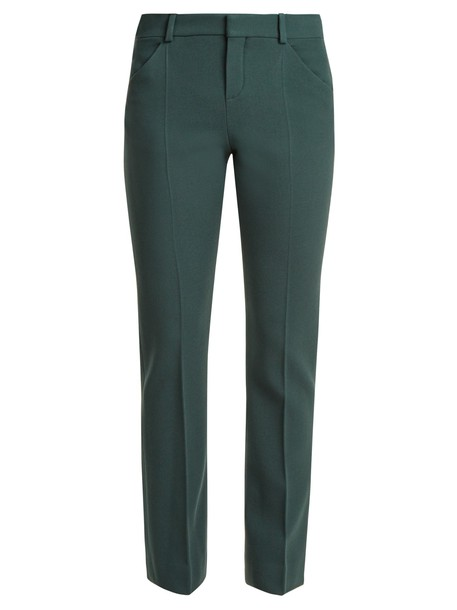 Chloe wool green pants