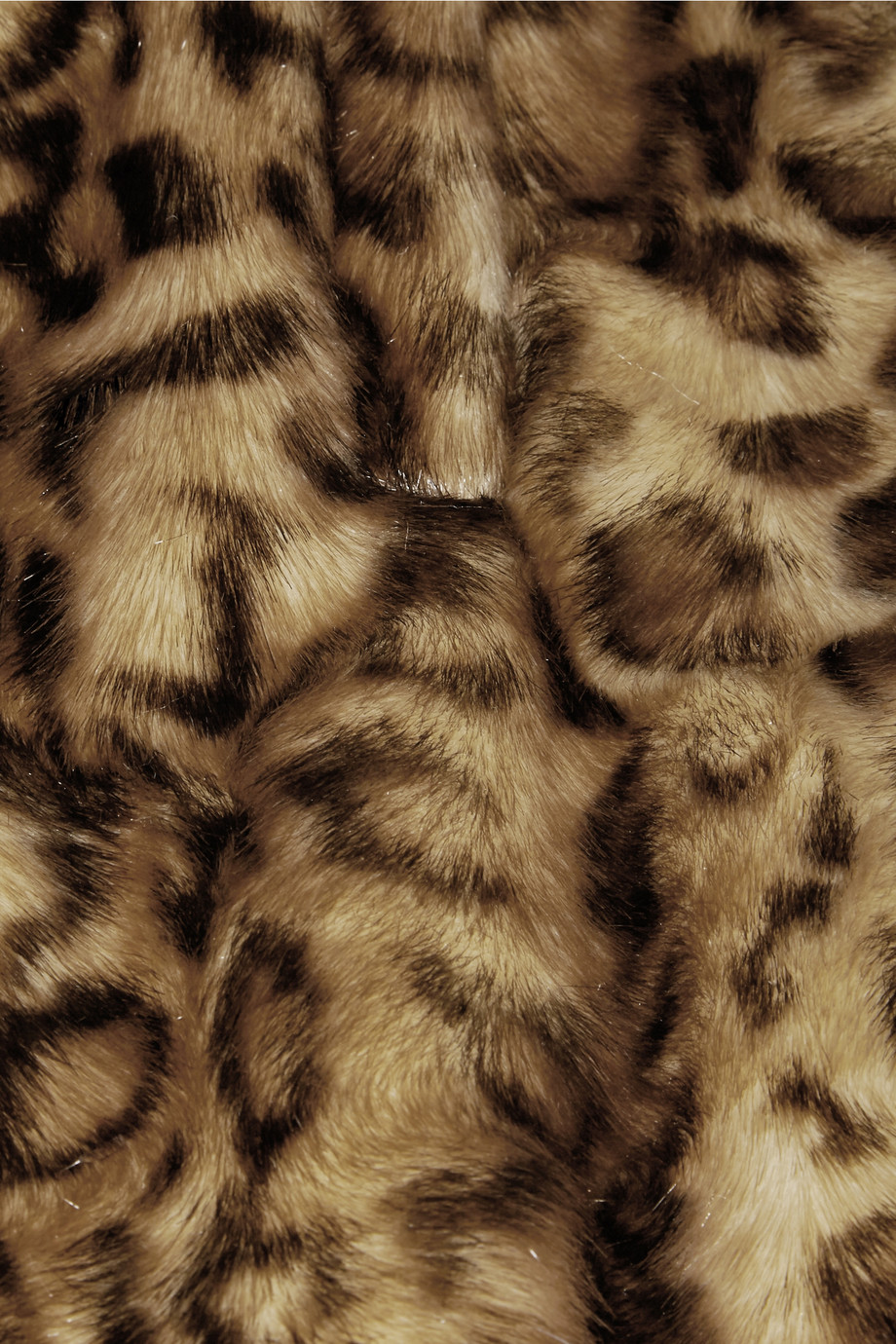 Simone Rocha Leopard-print faux fur coat – 65% at THE OUTNET.COM