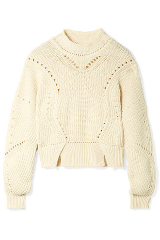 sweater cropped cotton