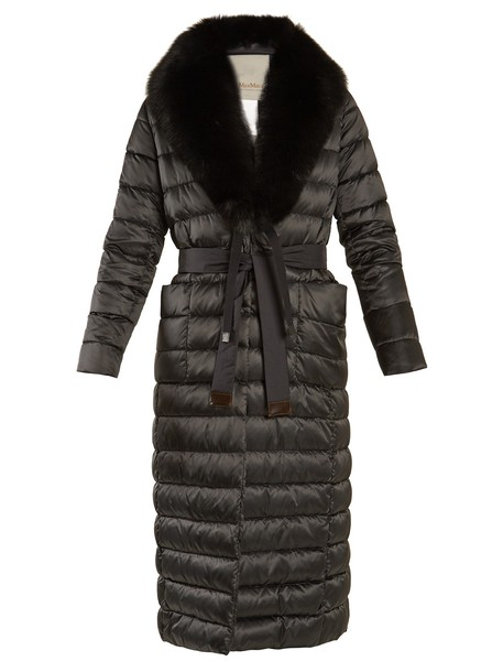 S MAX MARA coat black
