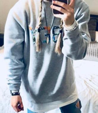 sweater obey sweatshirt obey