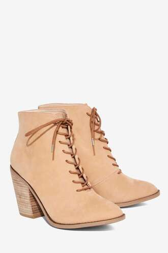 shoes heels booties boots stacked wood heel