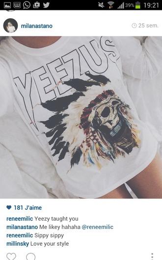 t-shirt yeezus jewels