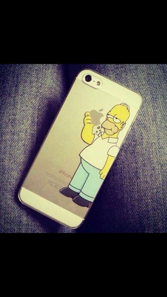 phone case t-shirt iphone case iphone case iphone 5 case homer simpson apple see through jeans iphone case simpsons homer iphone 5 case