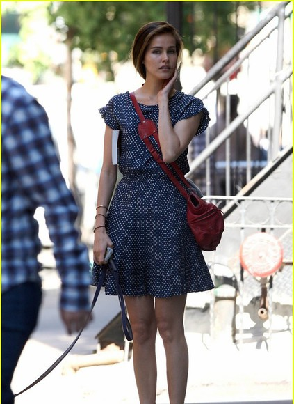 isabel lucas dress polka dots polka dots dress