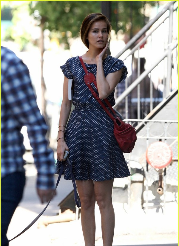 dress polka dots isabel lucas polka dots dress