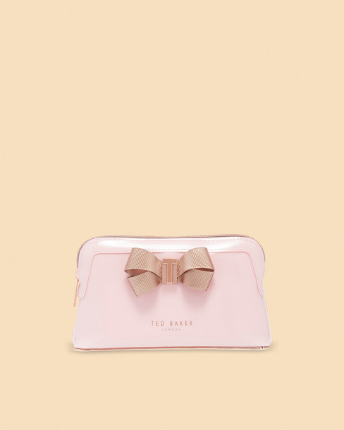 Ted Baker bow pale bag pink