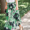 Palm leaf print skirt is on the blog today. i love this