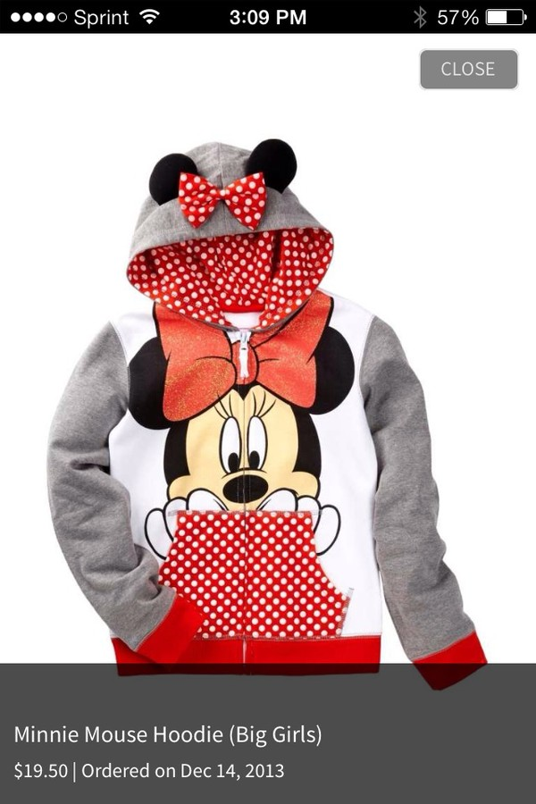shirt minnie mouse