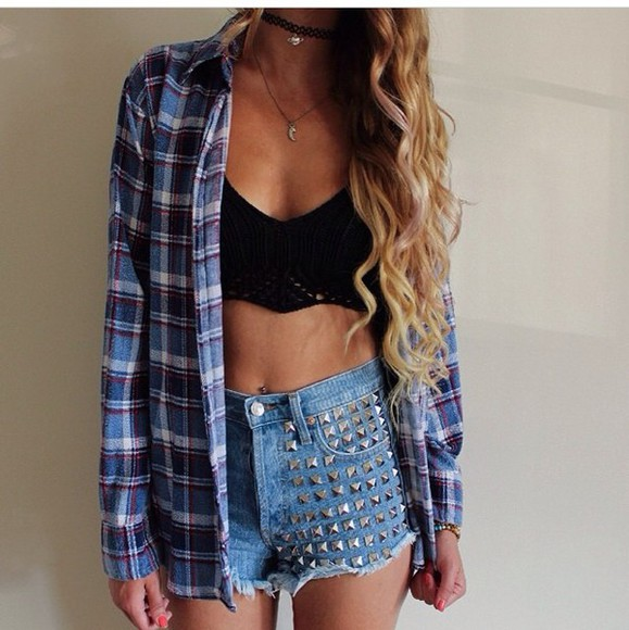 shorts top jewels