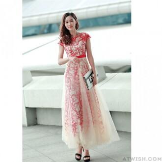dress gauze dress embroidered dress printed dress