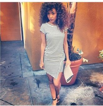 dress clutch high heels striped dress style heels bag