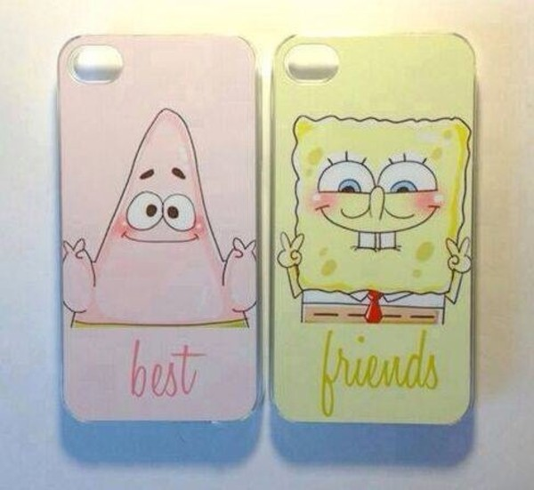 jewels bff phone phone cover spongebob