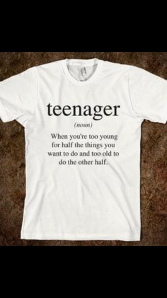 t-shirt tumblr quote on it white relatable tshirt with words