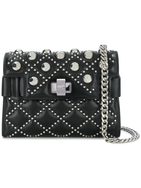 Miu Miu studded women bag shoulder bag leather black