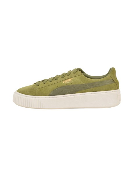 puma green shoes