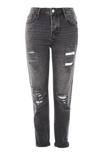 jeans ripped black