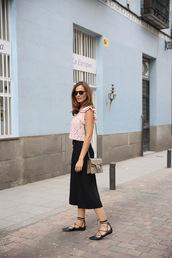 lady addict,blogger,bag,sunglasses,jacket,pink top,lace top,gucci,gucci bag