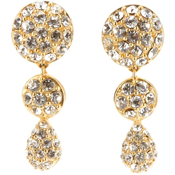 Christian dior vintage new year's earrings