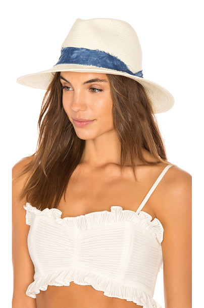 ale by alessandra Luca Hat in ivory