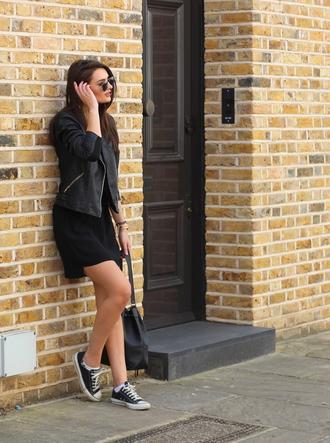peexo blogger jacket tank top dress belt bag sunglasses