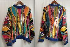 Vintage Coogi Sweater Medium 100 Mercerised Cotton Australia 3d Vaporwave 90s