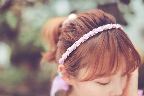 hair accessory girl kfashion headband korean fashion