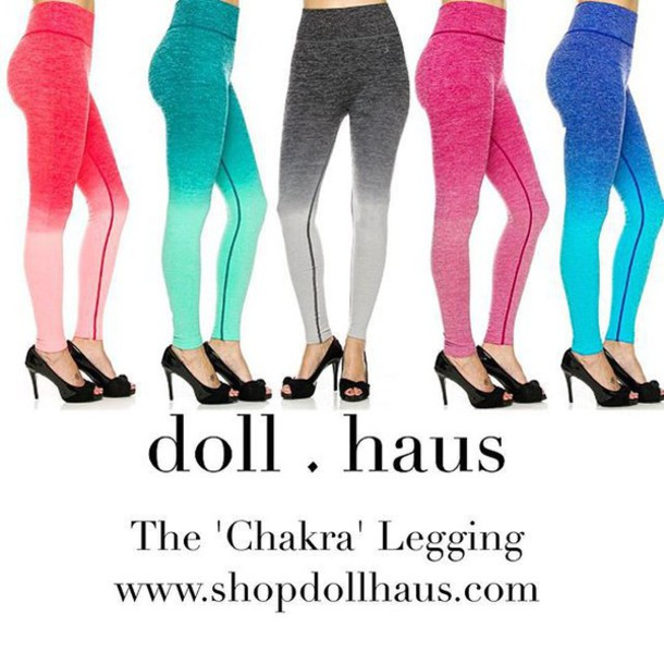 58178f8408 leggings fashion fitness colorful pink blue purple green shop shopdollhaus  online shop workout leggings seamless seamless