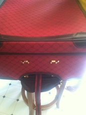 bag,ralph lauren,burgundy,luggage,suitcase