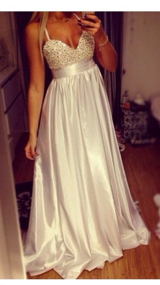 dress diamantes sparkles prom dress silk lilac silver straps pretty prom cleavage crystals diamonds silver dress