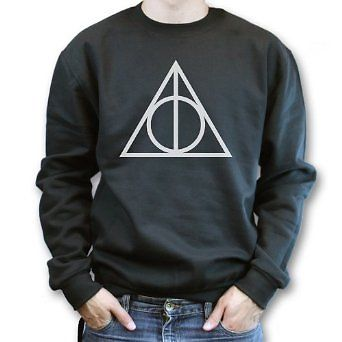 The Deathly Hallows Harry Potter Mens Womans Sweatshirt | eBay