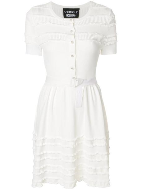 BOUTIQUE MOSCHINO dress women white
