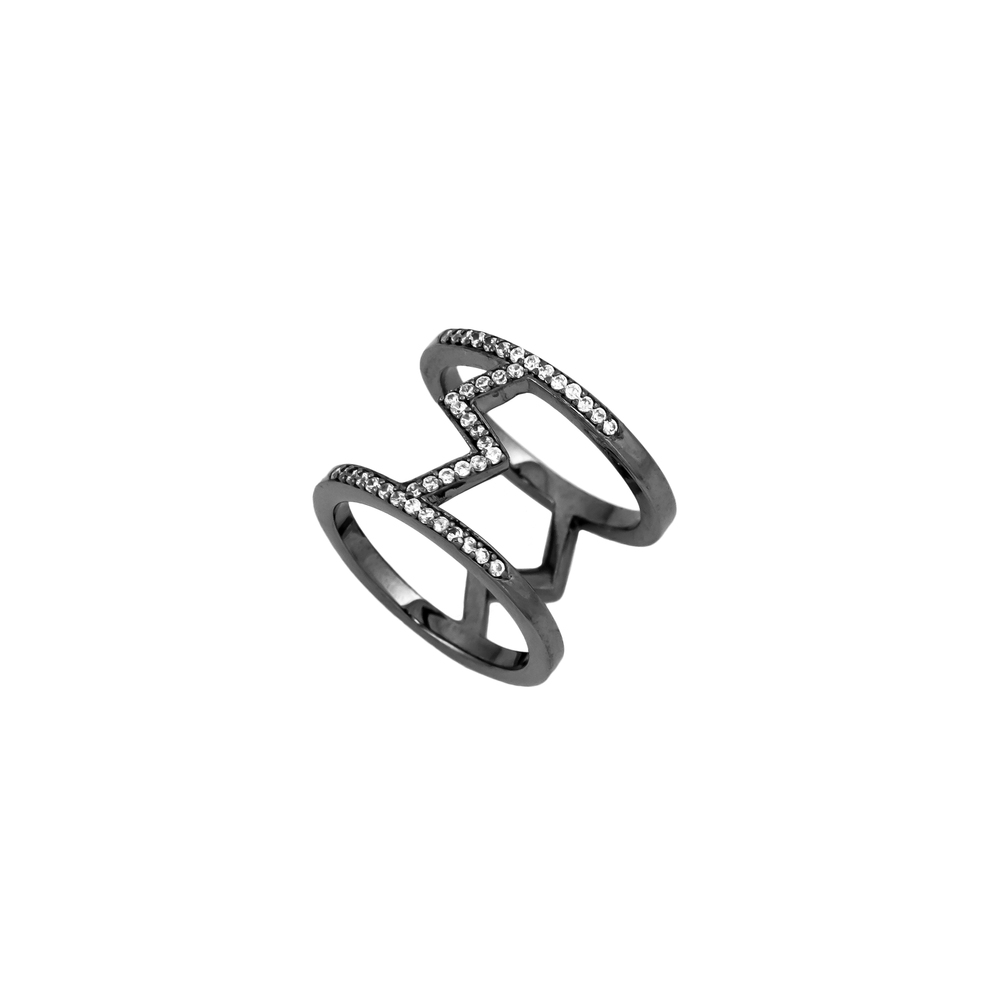 Electric Pavé Ring