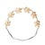 Eddera Greek Leaf Headband in Gold