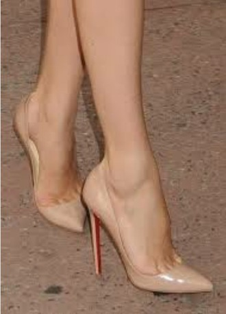 shoes stilletoes stilletto heels nude heels nude shoes beige shoes beige high heels high heels pumps natural heel