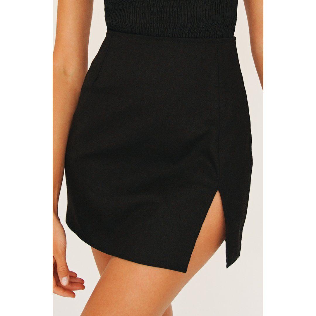 VG Artist Takeover Mini Skirt // Black