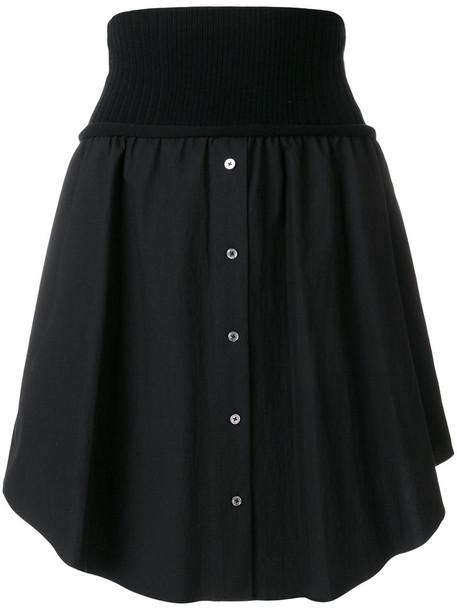 Alexander Wang skirt button up skirt women cotton black